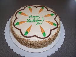 Carrot Cake B-day Cake